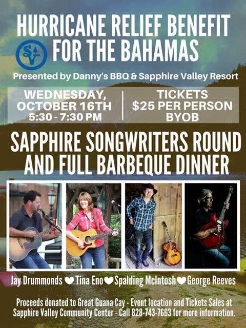 sapphire valley songwriters round