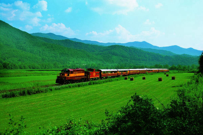 Great Smoky Mountain Railroad - Sapphire Valley Trip