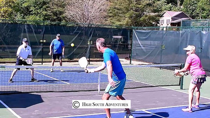 pickleball at sapphire valley resort