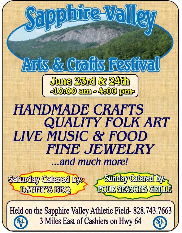 sapphire valley resort, arts and crafts festivals