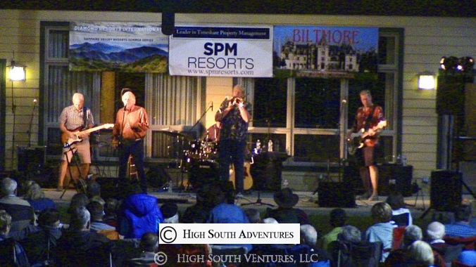 concert on the slopes, sapphire valley resort