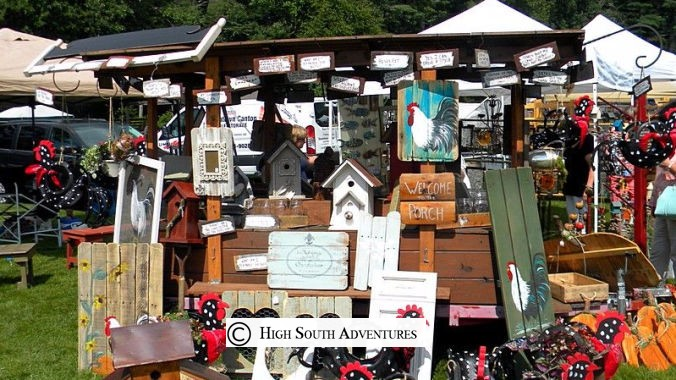 Arts and Craft Festivals Sapphire Valley Resort