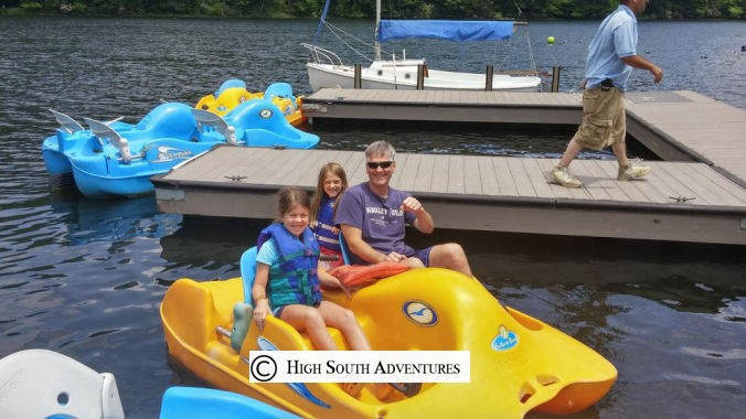 sapphire valley resort paddle boat