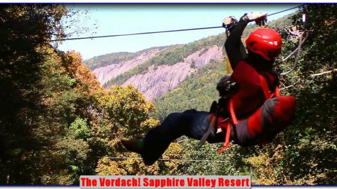 Sapphire Valley Resort Zip Line - The Vordach